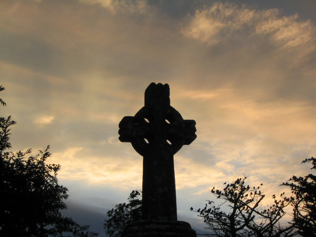 Celtic cross Knock Ireland
