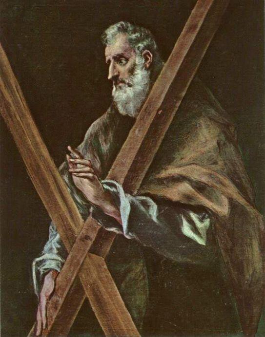 Apóstol Andrés.El Greco