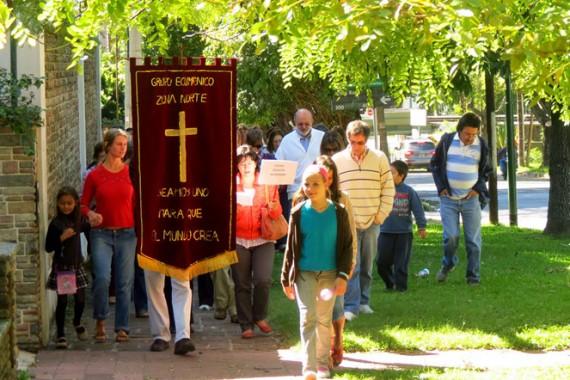 Peregrinación ecuménica en Viernes Santo