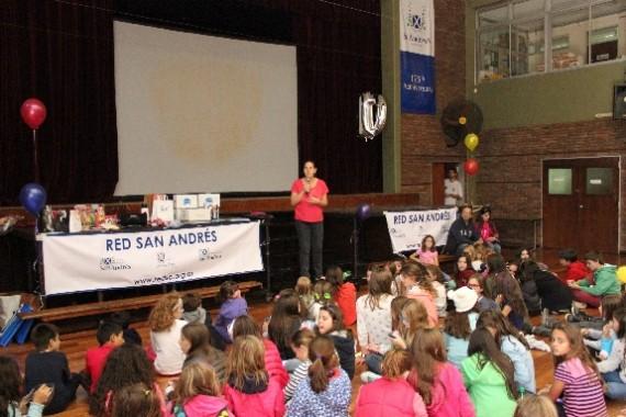 Celebramos los 10 años de Red San Andrés en el Family Day de la Escuela