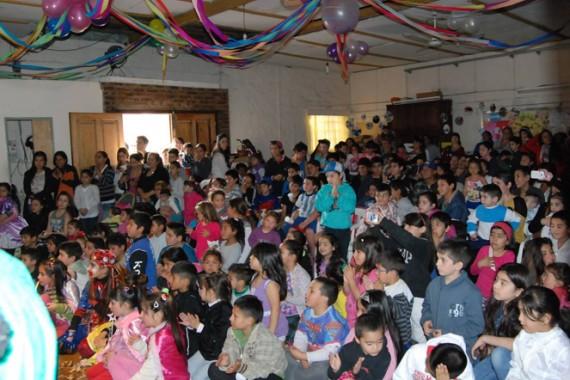 """Festejo del Día del Niño en el Centro Comunitario """"El Buen Samaritano"""""""